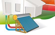 prix pose chauffe-eau solaire dans l' Essonne à Ris-Orangis